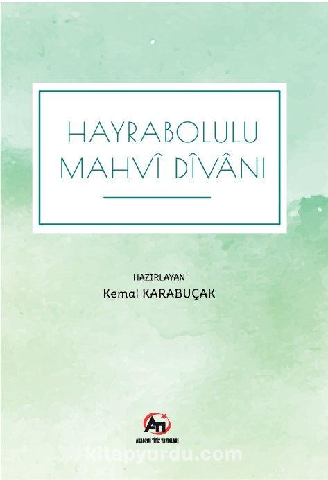 Hayrabolulu Mahvi Divanı PDF Kitap İndir