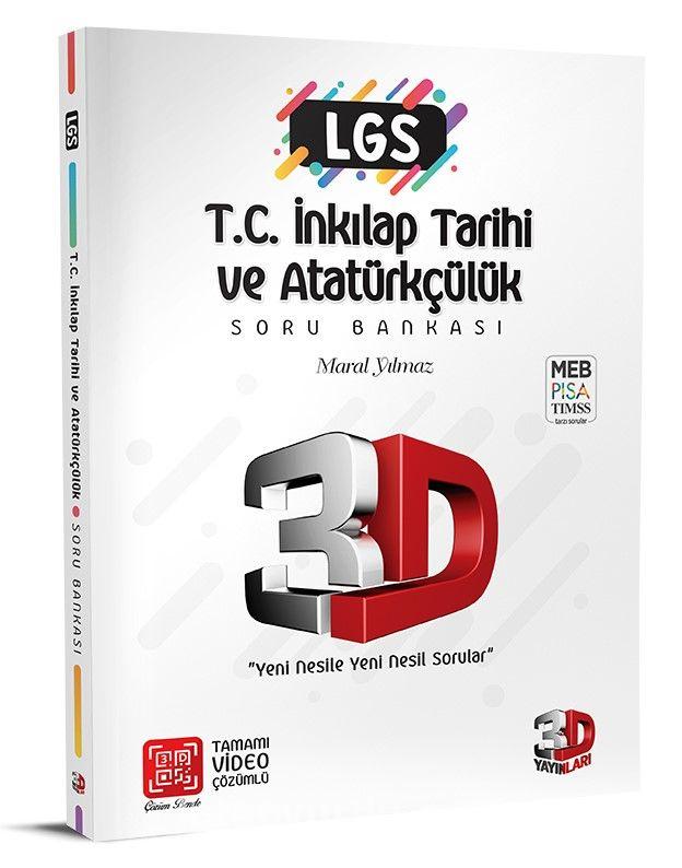 LGS 3D T. C. İnkılap Tarihi ve Atatürkçülük Soru Bankası PDF Kitap İndir