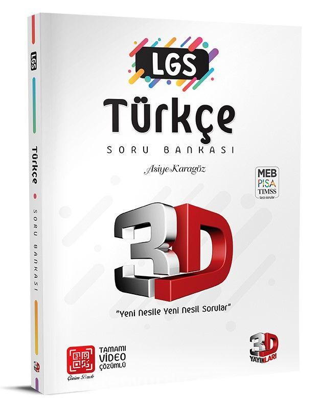 LGS 3D Türkçe Soru Bankası PDF Kitap İndir