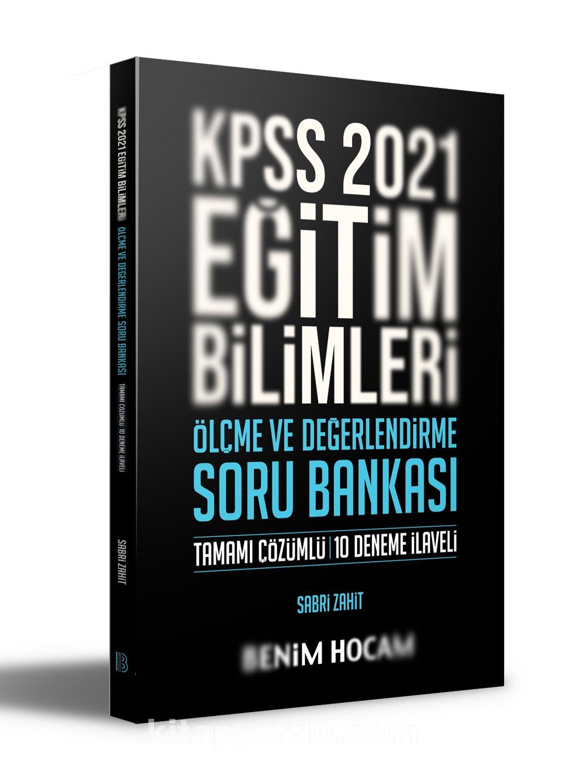 2021 KPSS Eğitim Bilimleri Ölçme ve Değerlendirme Soru Bankası PDF Kitap İndir
