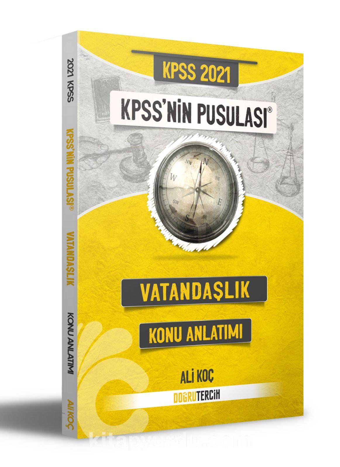 2021 KPSS'nin Pusulası Vatandaşlık Konu Anlatımı PDF Kitap İndir
