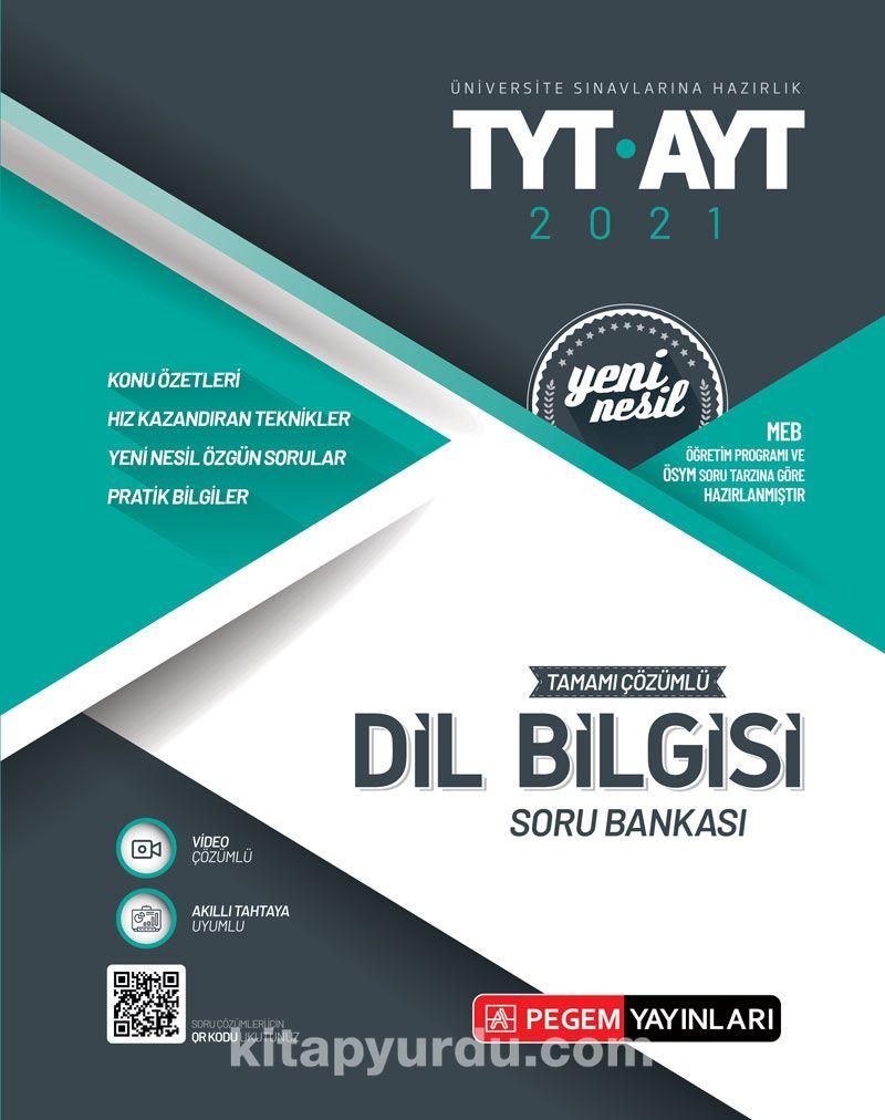 Üniversite Sınavlarına Hazırlık TYT-AYT Tamamı Çözümlü Dil Bilgisi Soru Bankası PDF Kitap İndir