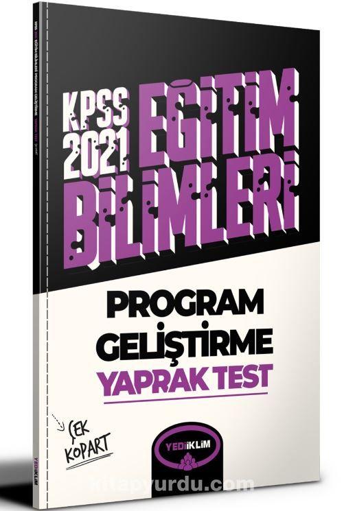 2021 Kpss Eğitim Bilimleri Program Geliştirme Çek Kopart Yaprak Test  PDF Kitap İndir
