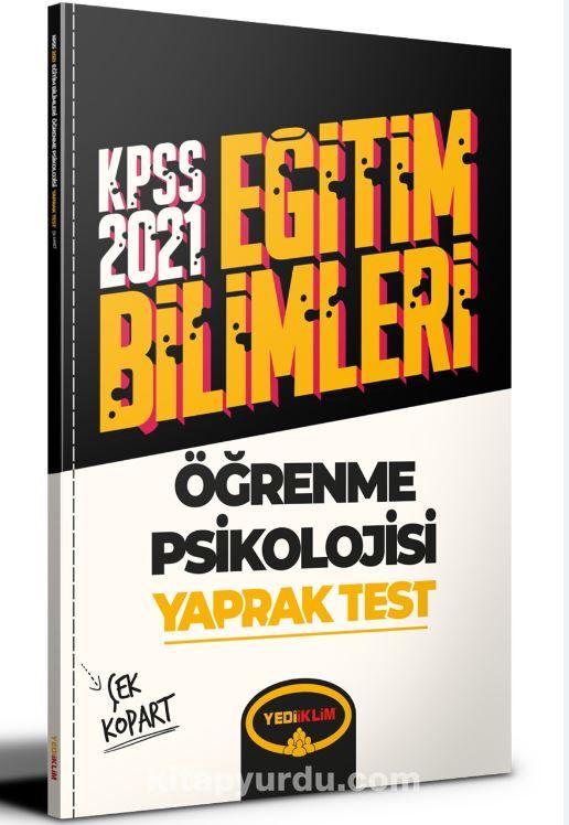 2021 Kpss Eğitim Bilimleri Öğrenme Psikolojisi Çek Kopart Yaprak Test  PDF Kitap İndir