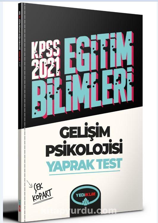 2021 Kpss Eğitim Bilimleri Gelişim Psikolojisi Çek Kopart Yaprak Test  PDF Kitap İndir