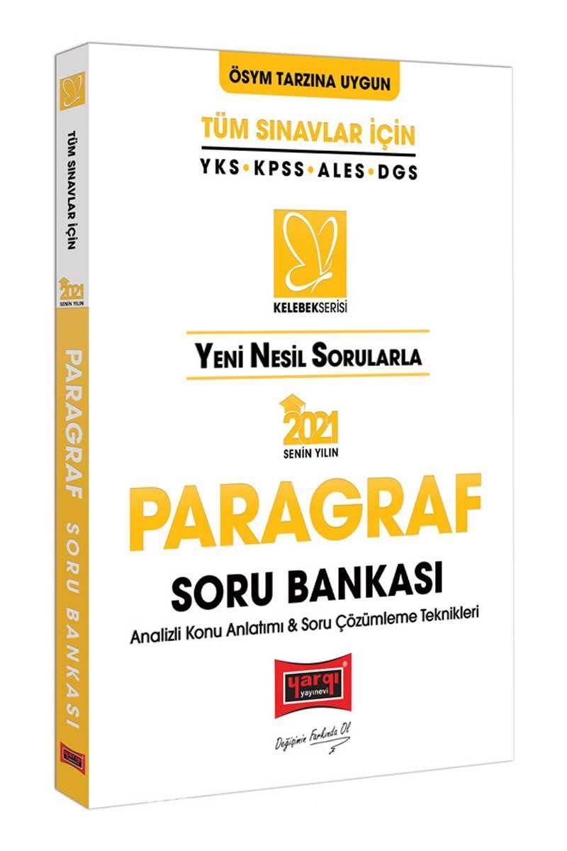 2021 Tüm Sınavlar İçin Paragraf Soru Bankası PDF Kitap İndir