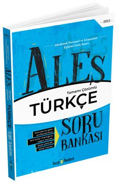 2021 ALES Sözel Türkçe Tamamı Çözümlü Soru Bankası PDF Kitap İndir