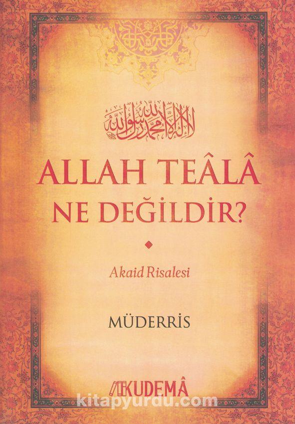 Allah Teala Ne Değildir? PDF Kitap İndir