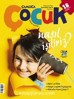Çamlıca Çocuk Dergisi Sayı:54 Kasım 2020
