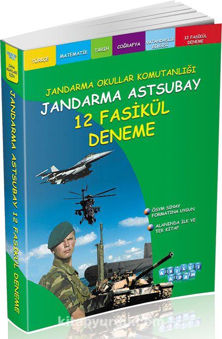 Jandarma Astsubay 12 Fasikül Deneme - Kollektif pdf epub
