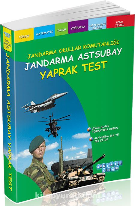 Jandarma Astsubay Yaprak Test - Kollektif pdf epub