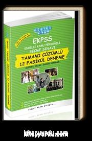 EKPSS Tamamı Çözümlü 12 Fasikül Deneme