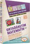 2016 KPSS ÖABT Orta Öğretim Matematik Eğitimi Alan Eğitimi Tamamı Ayrıntılı Çözümlü Soru Bankası