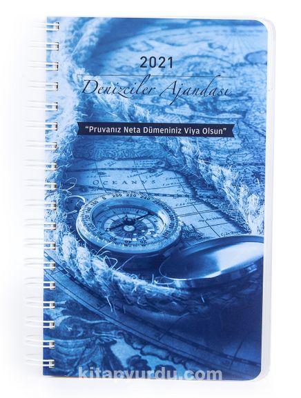 2021 Denizciler Ajandası - Renkli Spiralli (Büyük Boy)