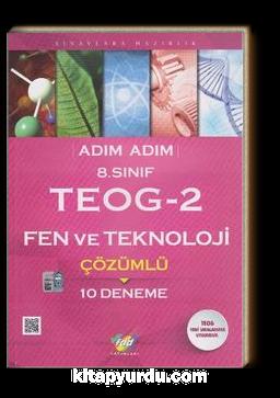 8. Sınıf TEOG 2 Fen ve Teknoloji Çözümlü 10 Deneme