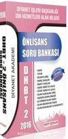 2016 DHBT 2 Önlisans Soru Bankası