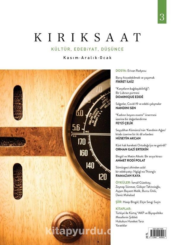 Kırık Saat Sayı 3 PDF Kitap İndir