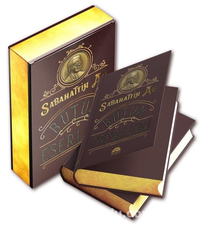 Sabahattin Ali Bütün Eserleri (Özel Deri Cilt-Kutulu) PDF Kitap İndir