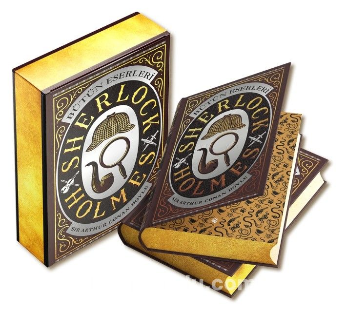 Sherlock Holmes Bütün Eserleri (Özel Deri Cilt-Kutulu) PDF Kitap İndir