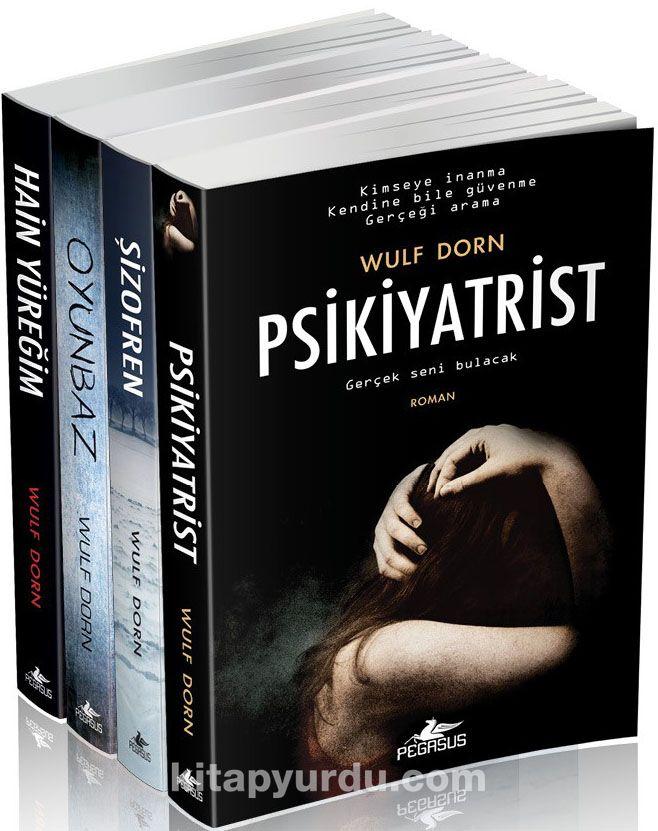 Wulf Dorn Psikolojik Gerilim Seti (4 Kitap)
