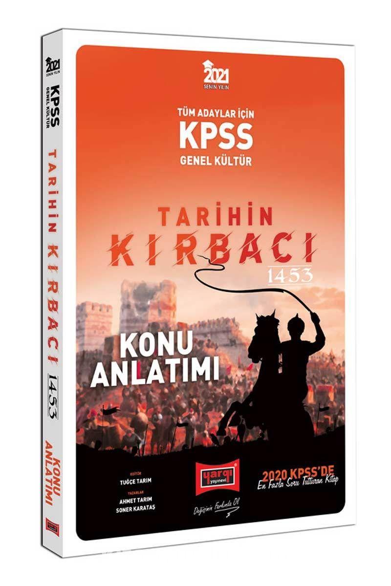 2021 KPSS Tarihin Kırbacı Konu Anlatımı PDF Kitap İndir