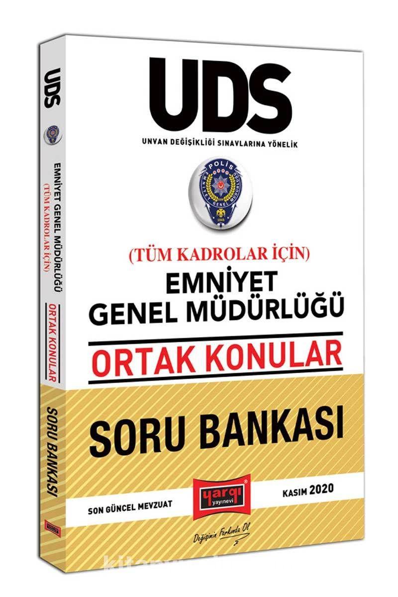 UDS Emniyet Genel Müdürlüğü Ortak Konular Tüm Kadrolar İçin Soru Bankası PDF Kitap İndir