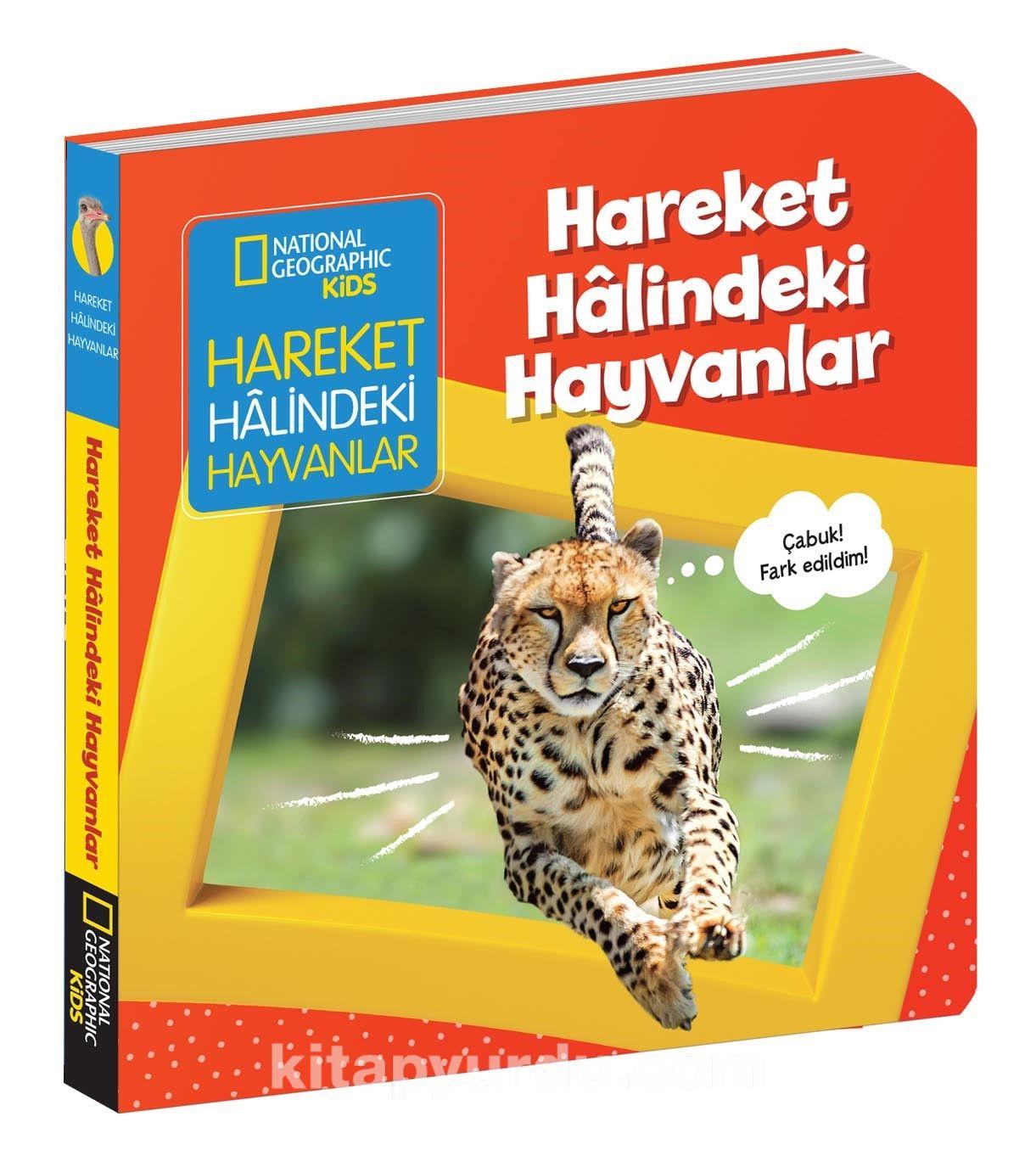 National Geographic Kids / Hareket Halindeki Hayvanlar PDF Kitap İndir