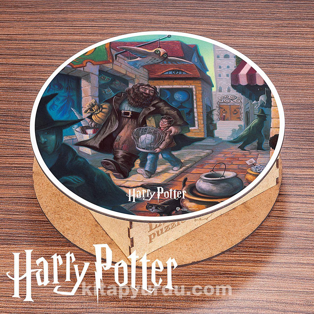 Harry Potter - Diagon Alley Ahşap Lava Puzzle 300 Parça (KOP-HP262 - CCC) (Lisanslı Ürünler) PDF Kitap İndir