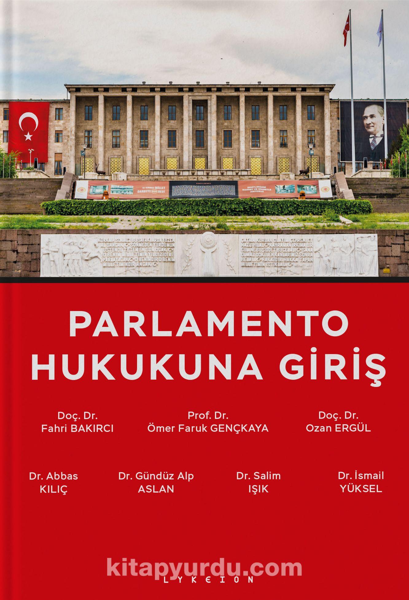 Parlamento Hukukuna Giriş PDF Kitap İndir