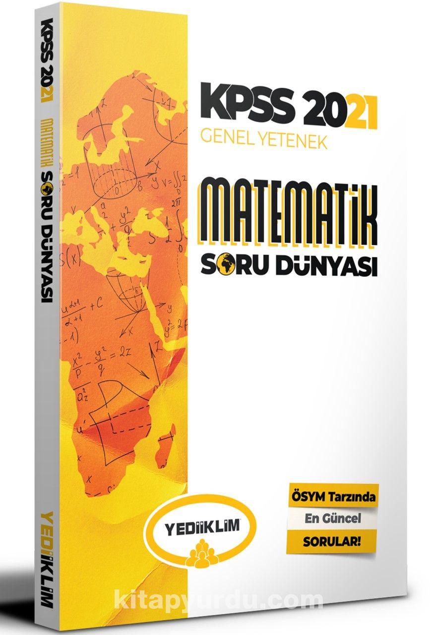 2021 KPSS Genel Yetenek Matematik Soru Dünyası PDF Kitap İndir