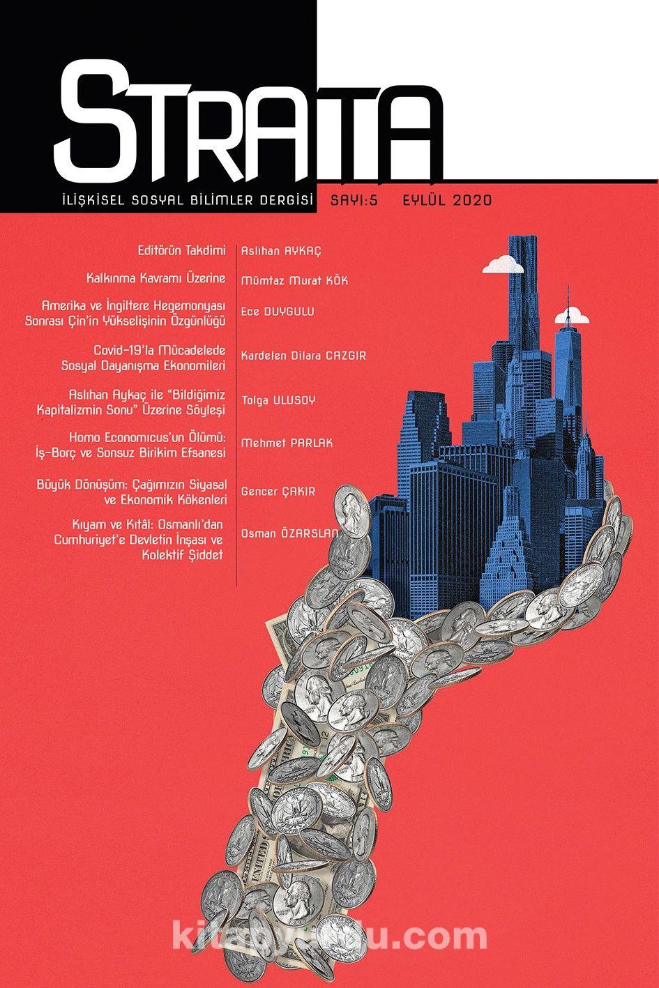 Strata İlişkisel Sosyal Bilimler Dergisi Sayı:5 2020 PDF Kitap İndir