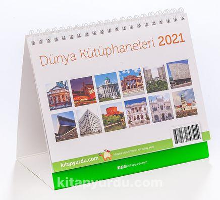 2021 Masa Takvimi (Dünya Kütüphaneleri)