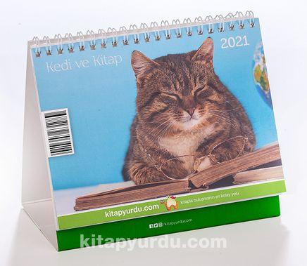 2021 Masa Takvimi (Kedi ve Kitap)