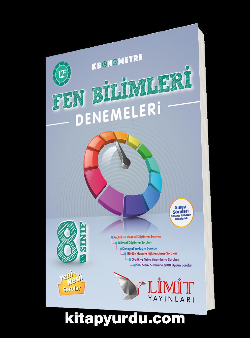 8. Sınıf Kronometre 12'li Fen Bilimleri Denemeleri PDF Kitap İndir