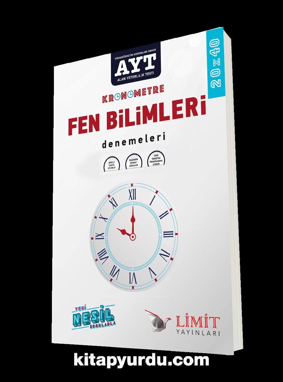 AYT Kronometre Fen Bilimleri Denemeleri PDF Kitap İndir