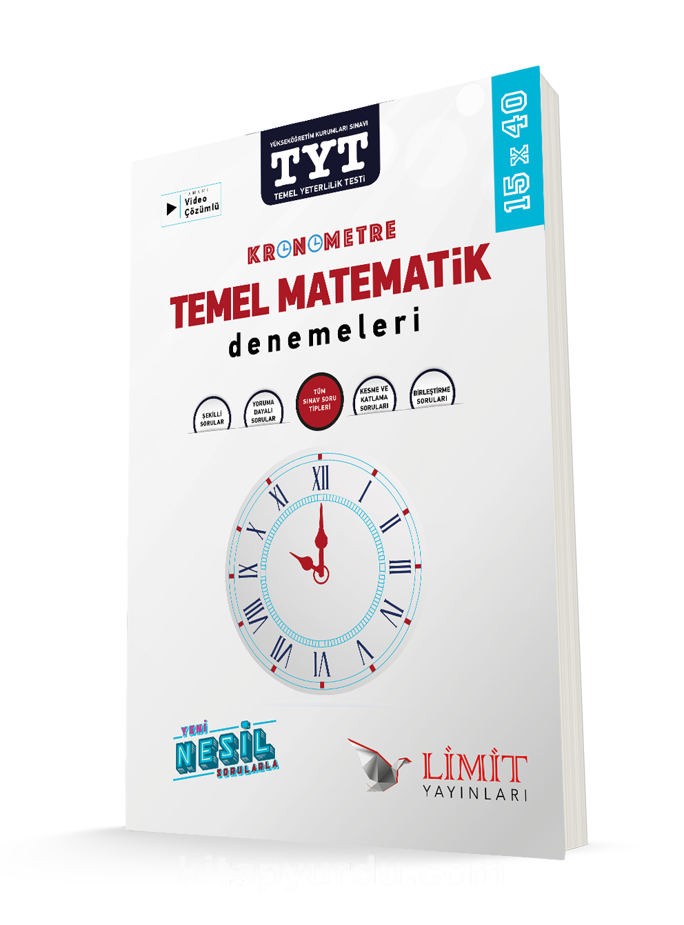 TYT Kronometre Matematik Denemeleri PDF Kitap İndir