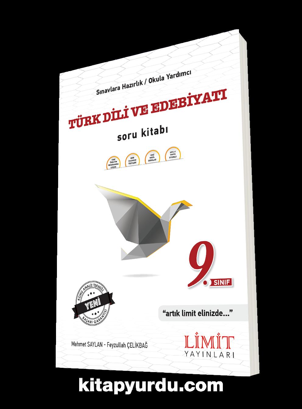 9. Sınıf Türk Dili ve Edebiyatı Soru Kitabı PDF Kitap İndir