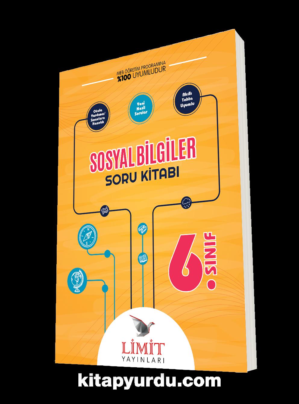 6. Sınıf Sosyal Bilgiler Soru Kitabı  PDF Kitap İndir