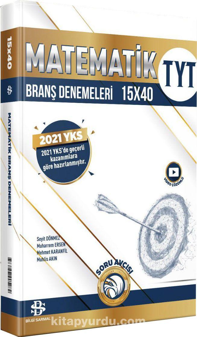 TYT Matematik 15x40 Branş Denemeleri PDF Kitap İndir