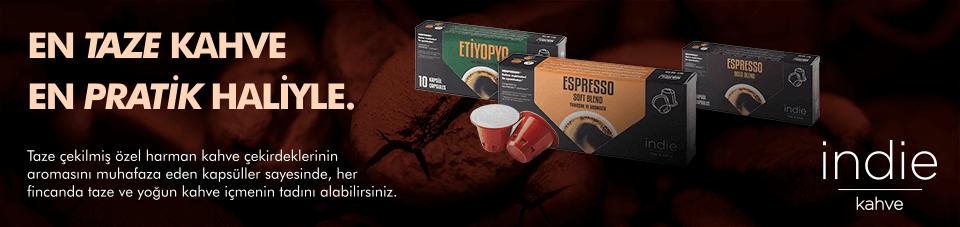İndie Kahve: En Tahze Kahve En Pratik Haliyle