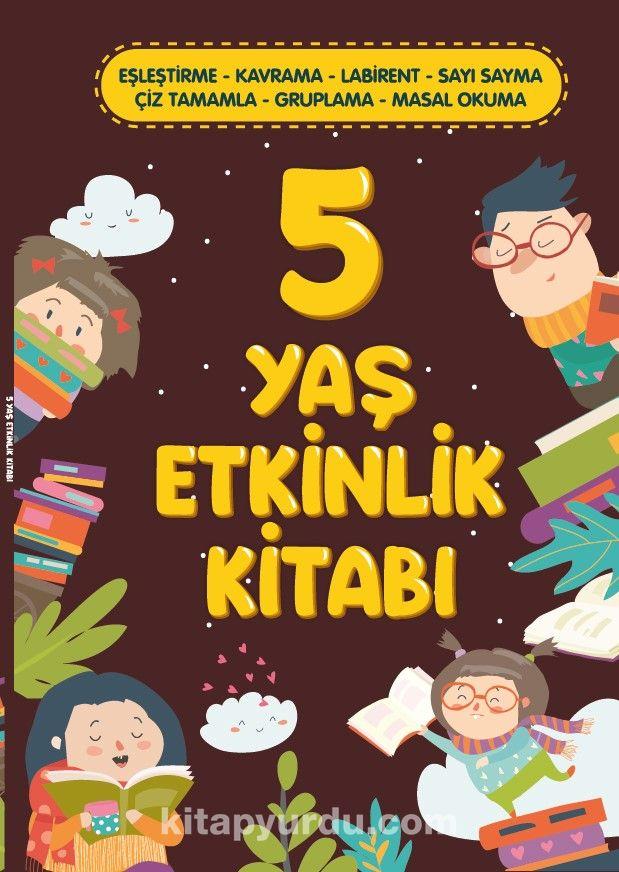 5 Yaş Etkinlik Kitabı PDF Kitap İndir