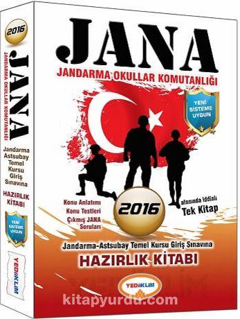 2016 JANA Jandarma Okullar Komutanlığı Hazırlık Kitabı