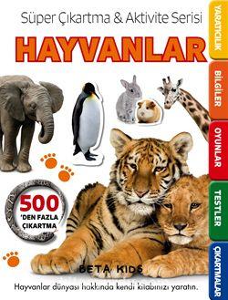 Süper Çıkartma - Aktivite Serisi: Hayvanlar (7-9 Yaş)