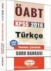 2016 KPSS ÖABT Türkçe Tamamı Çözümlü Soru Bankası