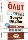 2016 KPSS ÖABT Sosyal Bilgiler Tamamı Çözümlü Soru Bankası