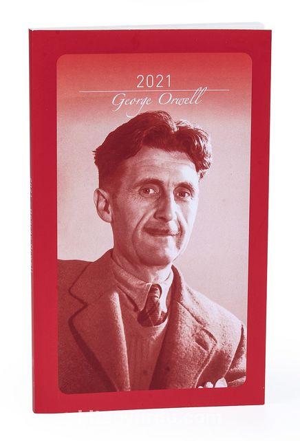 2021 George Orwell Ajandası (Büyük Boy)