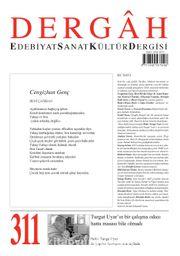 Dergah Edebiyat Sanat Kültür Dergisi Sayı:311 Ocak 2016