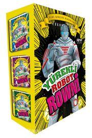 Yürekli Robot Rowni Seti (3 Kitap Kutulu)