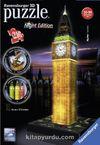 3D Puzzle Big Ben-Night 216 Parça (RPB 125883)