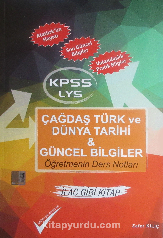 Kpss Lys çağdaş Türk Ve Dünya Tarihi Güncel Bilgiler öğretmenin